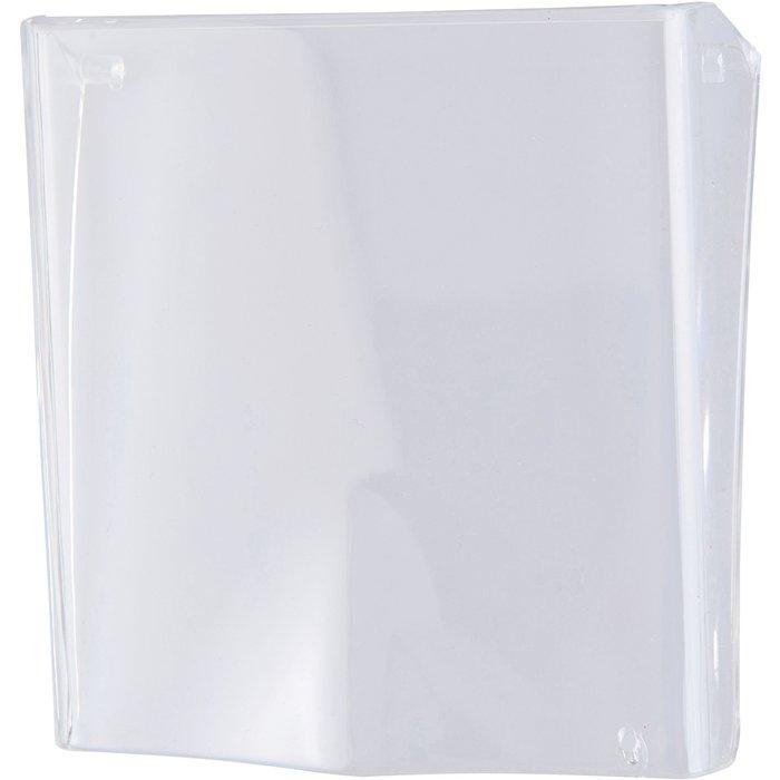 Volet transparent pour déclencheur manuel - Plombable - Dimension 90 x 90 mm