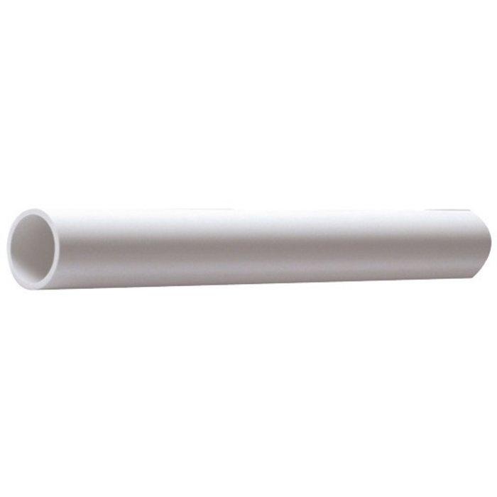 Tube PVC pour évacuation - Blanc - Longueur 2 m