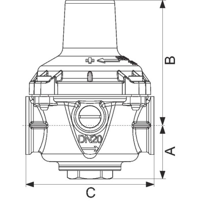 Réducteur de pression n°11 - Femelle / Femelle - 46952-1