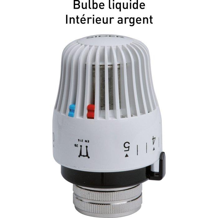 Tête de robinet thermostatique LQ M28 de radiateur - Bulbe liquide-2