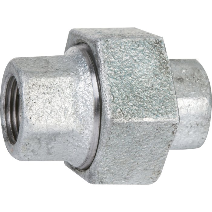 Raccord union conique - Fonte galvanisée - Femelle / Femelle - 340-1