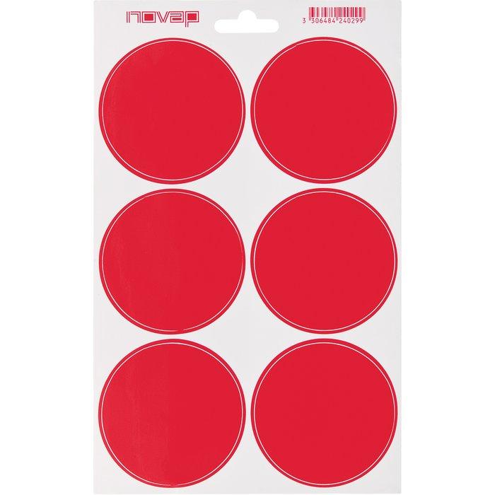 Planche de pictogrammes de sécurité - Rouge-1
