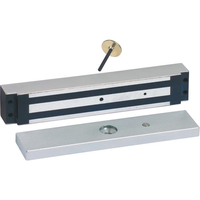 Ventouse électromagnétique 300 daN - À encastrer - Tension 12 / 24 V - Inox