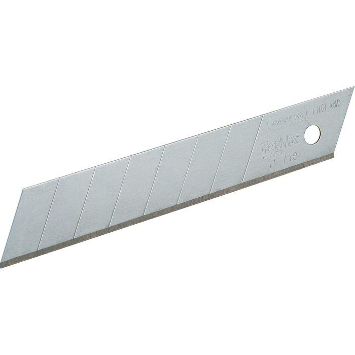 Lame pour cutter - Largeur 18 mm - Lame à 8 éléments sécables-1