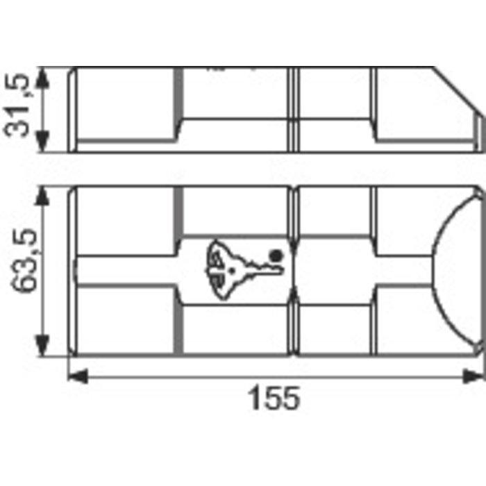Kit de serrure de sûreté - Pour véhicule ArmaDLock-1