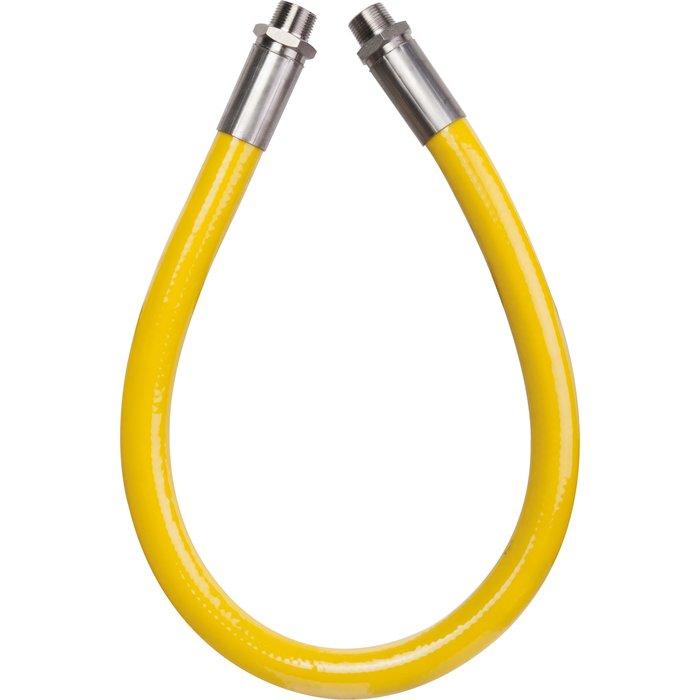 "Flexible gaz naturel ou propane Tubogaz - Mâle - Filetage 3/4"""