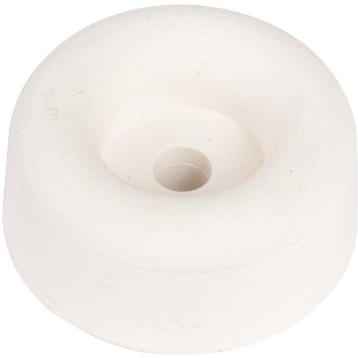 Butoir de porte - Caoutchouc - Blanc