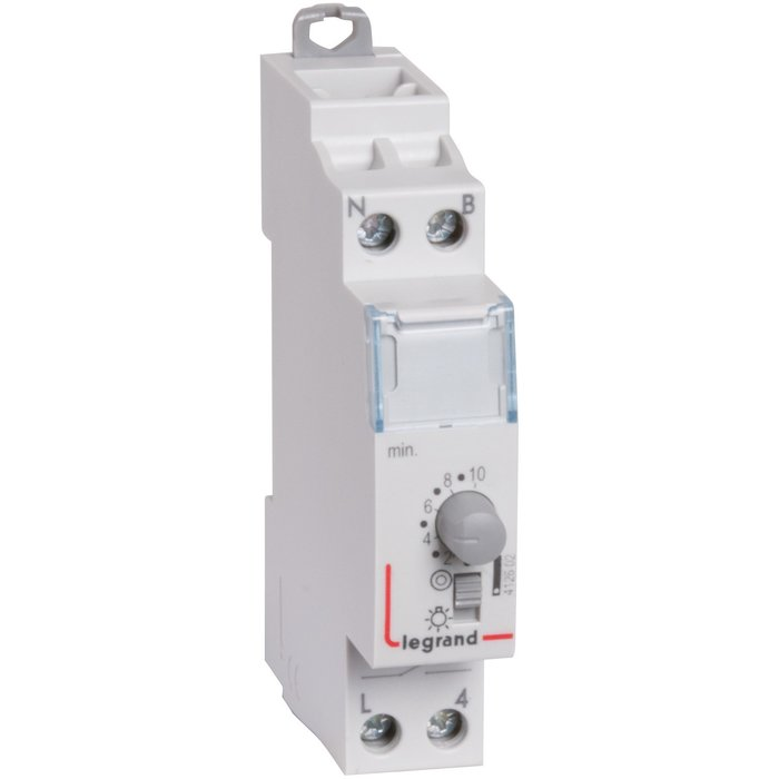 Minuterie électronique - 1 module - Tension 230 V