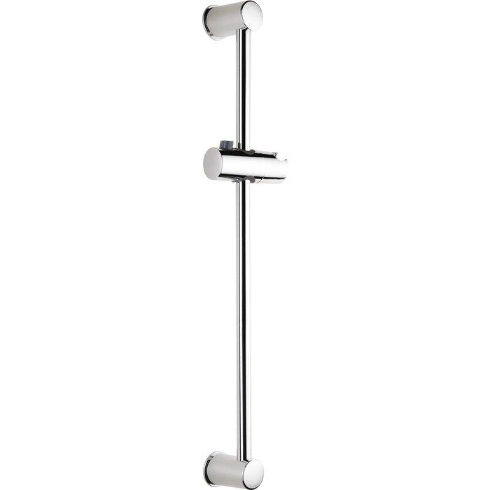 Barre de douche - Diamètre tube 19 mm - Curseur à bouton