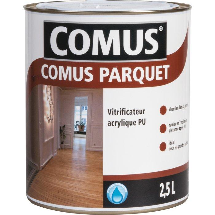 Vitrificateur pour parquet - Acrylique polyuréthane - Finition mate