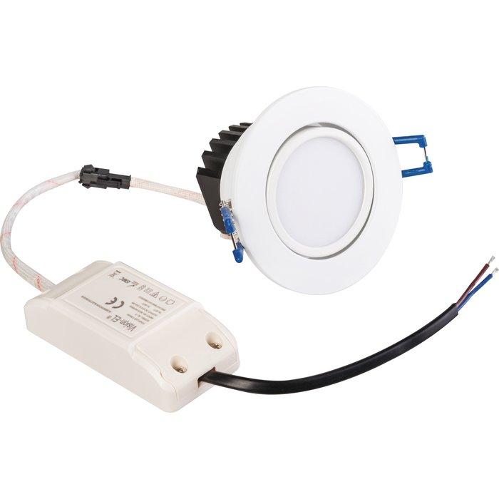 Spot à LED d'intérieur - Encastré - Orientable - Puissance 5 W