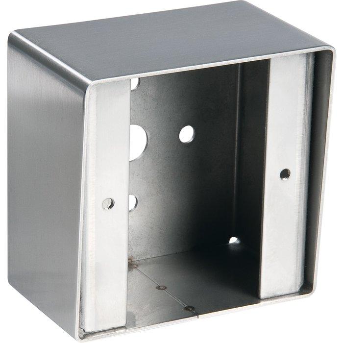 Boîtier GM - Pour bouton poussoir BP19 - Inox