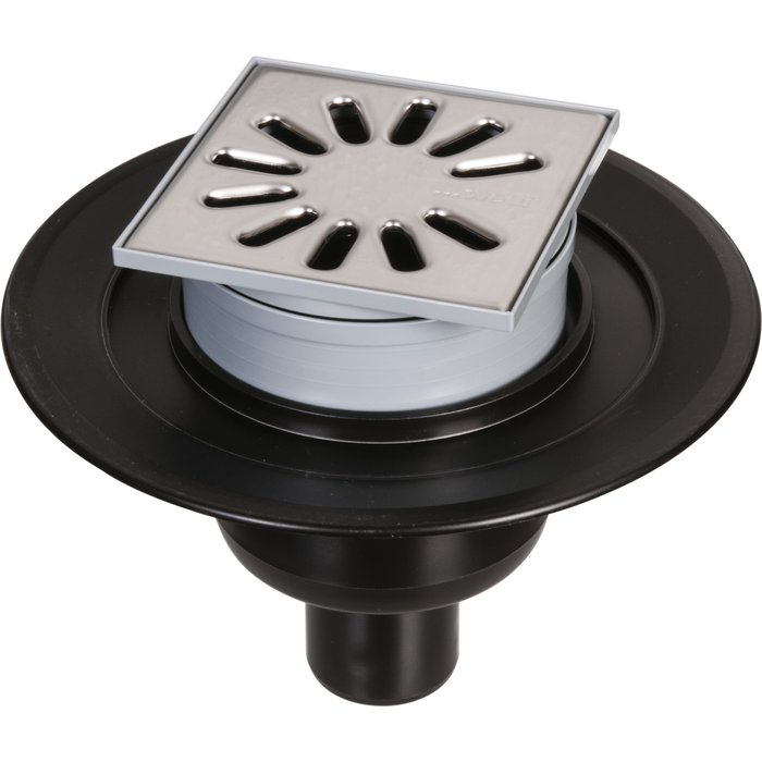 Bonde de douche verticale pour receveur Fundo-1