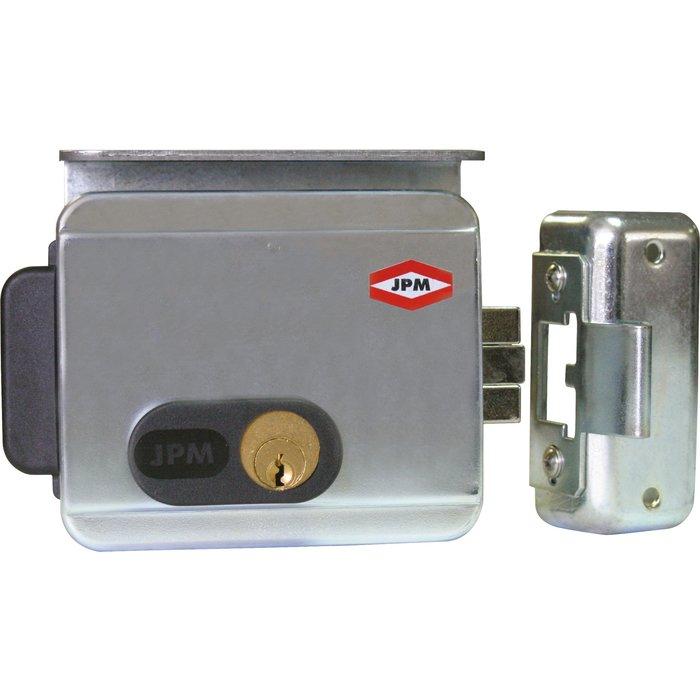 Électro-serrure - Cylindre 2 entrées - Tension 12 V