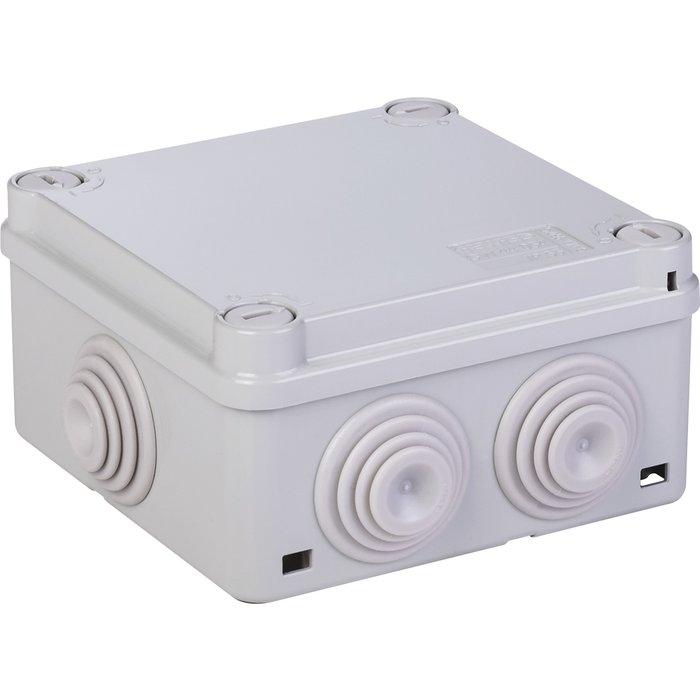 Boîte de dérivation rectangulaire Série 44 CE - Avec passe-fils - Couvercle bas et vis quart de tour
