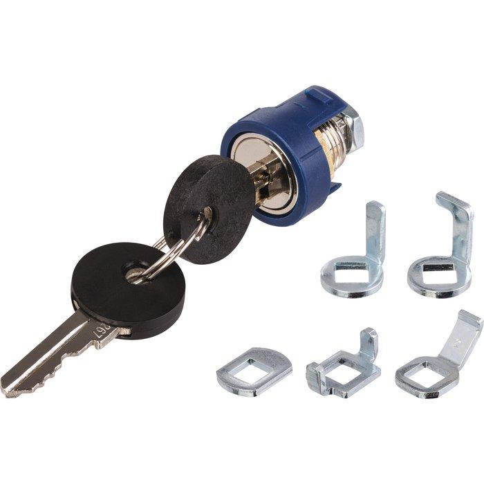 Serrure de sécurité  pour coffret - Cylindre en métal-1