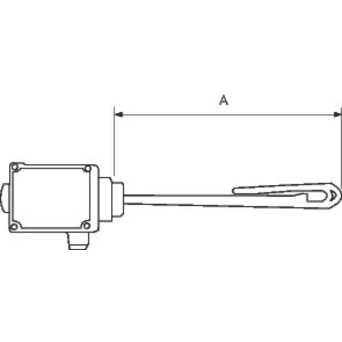 Résistance électrique - Chauffage - Pour bouteille de mélange et ballon tampon-1