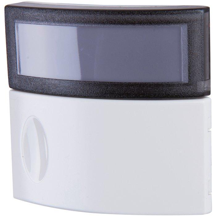 Bouton poussoir Salsa - Porte étiquette IP44 - IK06