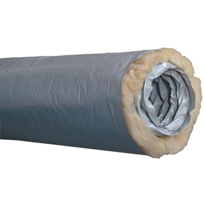 Gaine de VMC isolée Algaine - Longueur 6 m - Diamètre 16 cm