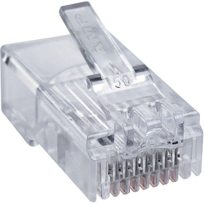 Fiche RJ 45 - Pour câble rond-1