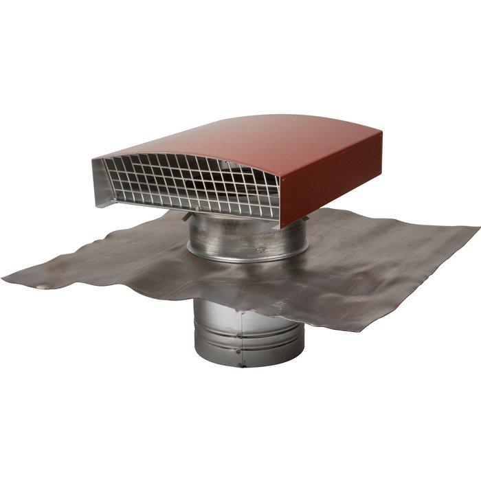 Sortie de toit CTM pour rejet et prise d'air de VMC - Métal