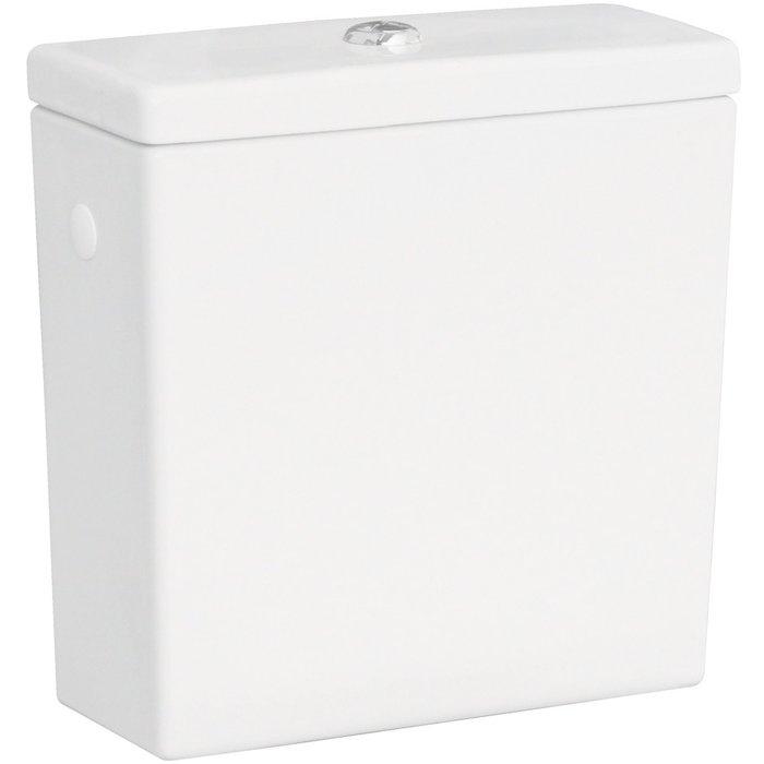 Réservoir pour pack WC céramique caréné-1