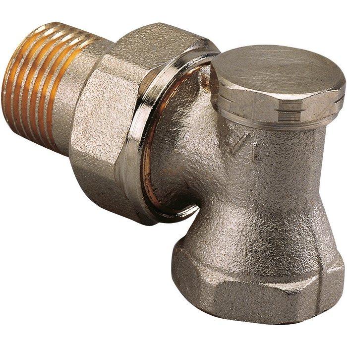 Coude de réglage pour radiateur SAR - Équerre - Femelle