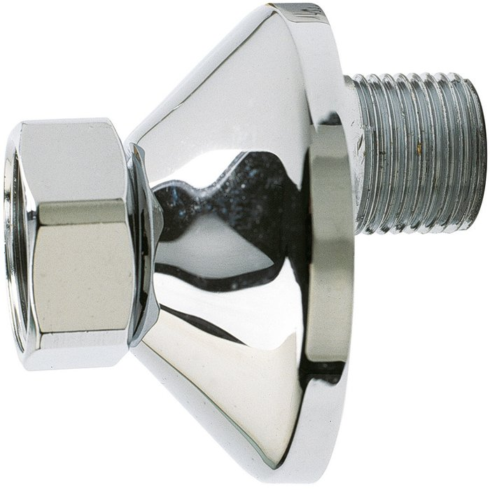 Raccord excentré - Mâle / Femelle - Excentration de 10 mm - Filetage 1/2''-1