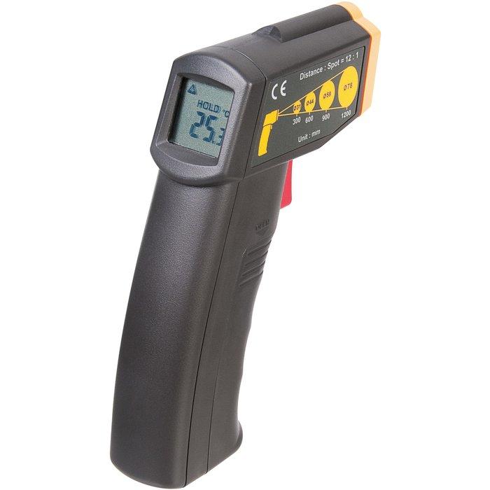Thermomètre infrarouge sans contact - Mesure -20 à +500°C