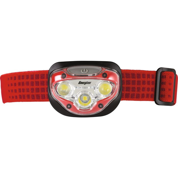 Lampe frontale à LED Pro Headlight - 3 sources - Portée 40 m