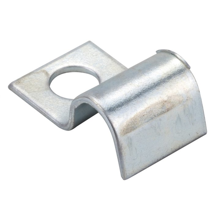 Collier de fixation de tube - Acier - Diamètre 8 mm