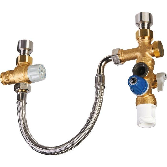 Kit de sécurité KMIXVI pour chauffe eau - Prêt à poser