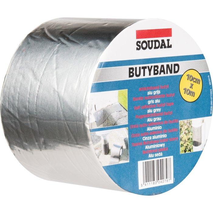 Bande d'étanchéité souple Butyband - Aluminium-1