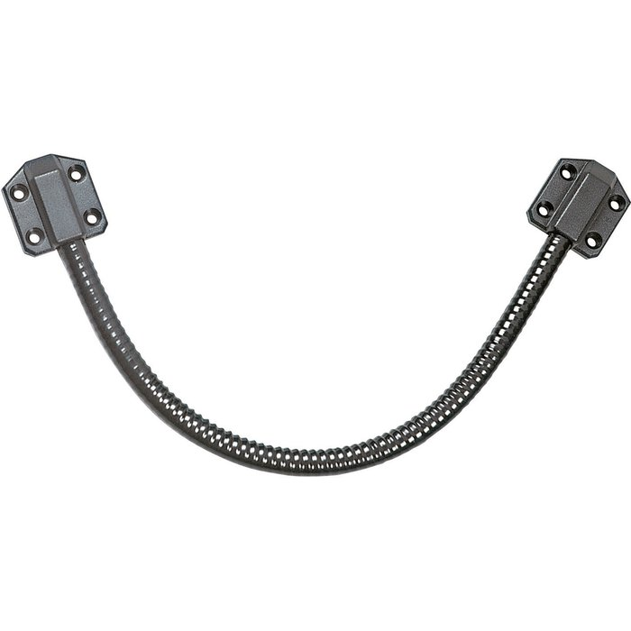 Flexible de passage de câble - Longueur 300 mm - Gris / Inox
