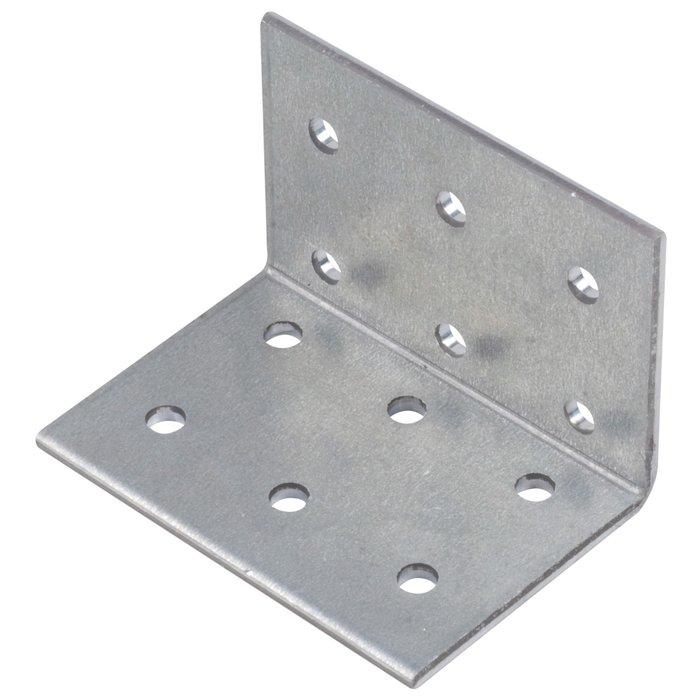 Équerre standard perforée - Épaisseur 2,5 mm