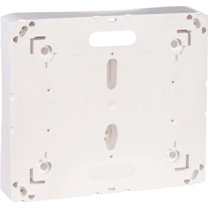 Platine pour disjoncteur de branchement - Pour coffret Drivia 13 / 18 modules