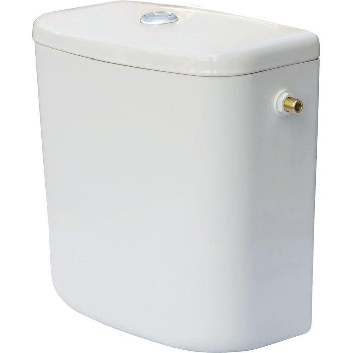 Réservoir WC céramique universel - Mécanisme 3/6 l