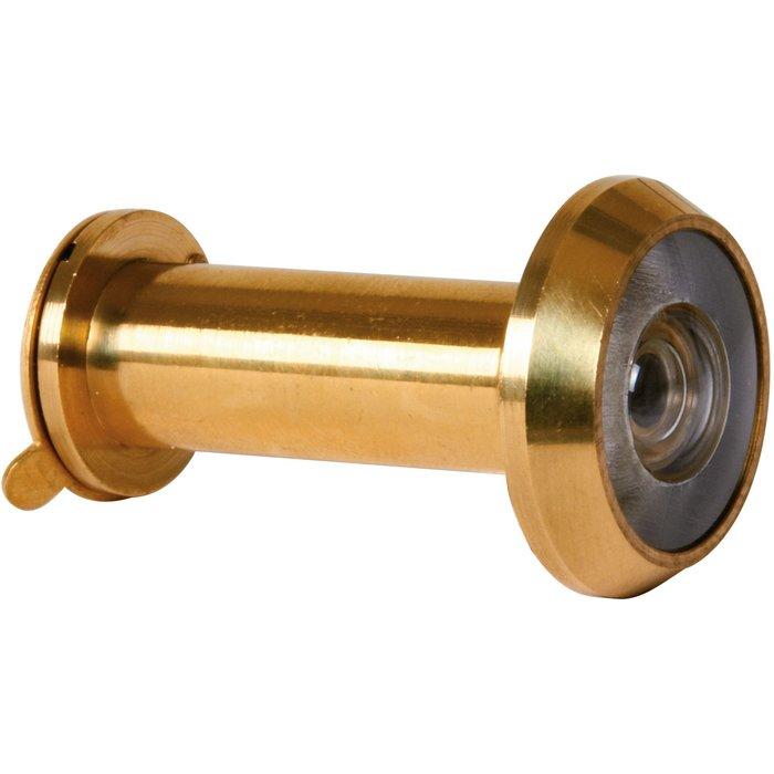 Judas de porte optique Major - Angle 200° - Épaisseur de porte 34 à 61 mm