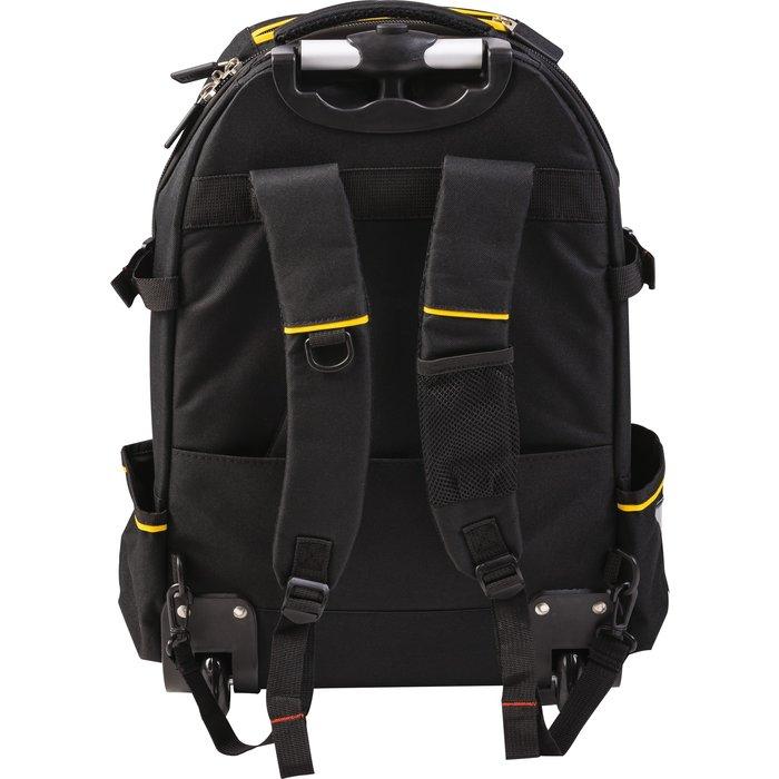 Sac à dos porte-outils à roulette - Nylon - Capacité 28 l-3