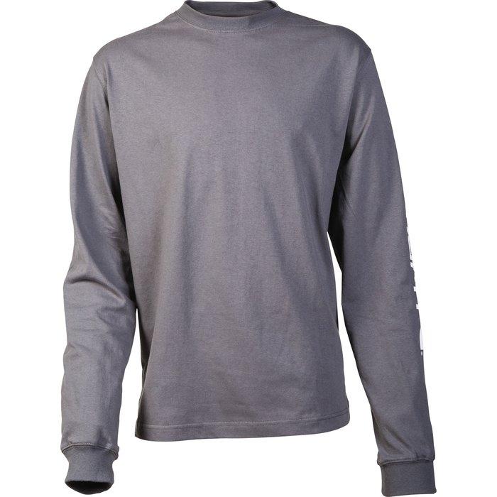 T-shirt de travail manche longue - Logo - Coton et polyester-1