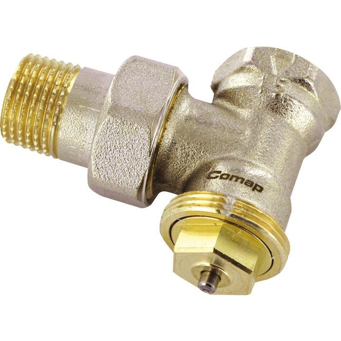 Robinet thermostatique Senso M28 de radiateur - Équerre - Femelle-1