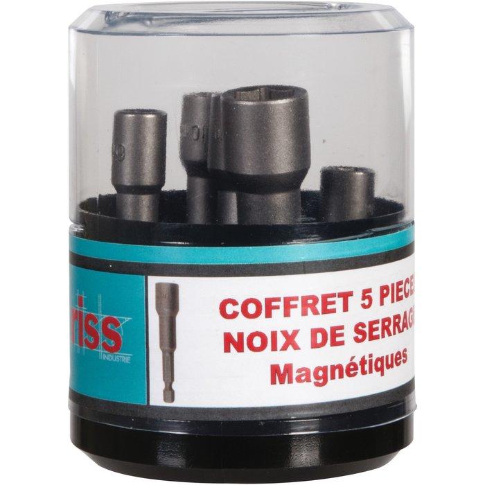 Noix de serrage magnétique - Coffret de 5 pièces
