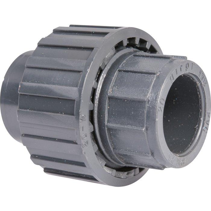 Raccord union 3 pièces - PVC pression - Femelle / Femelle