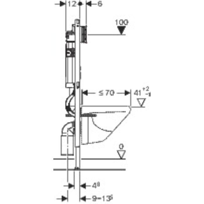 Bâti-support Duofix Sigma-2