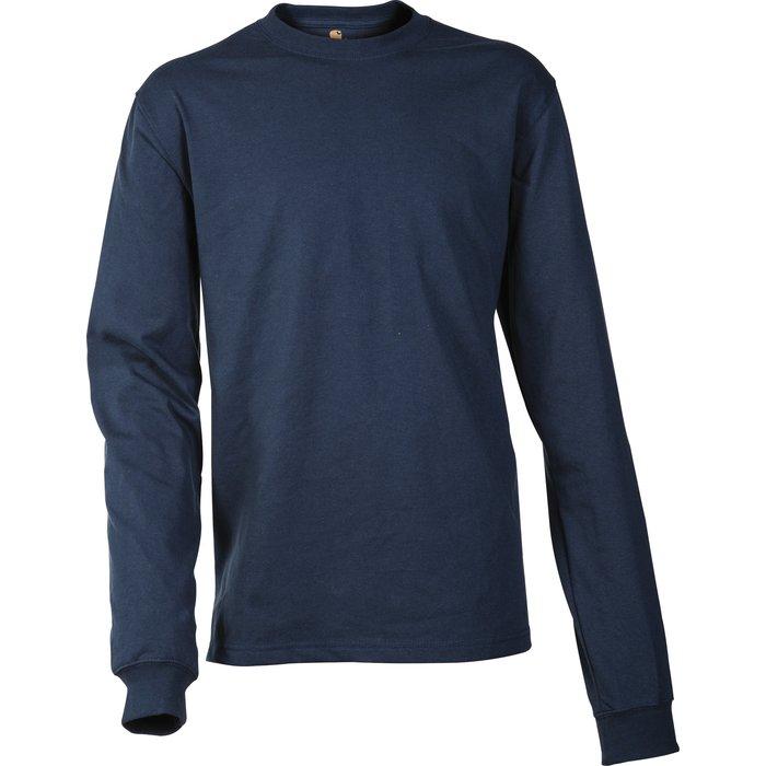 T-shirt de travail manche longue - Logo - Coton et polyester-2
