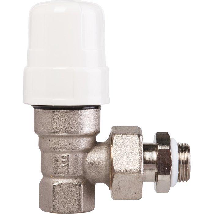 Robinet thermostatisable de radiateur - Équerre - Femelle-1