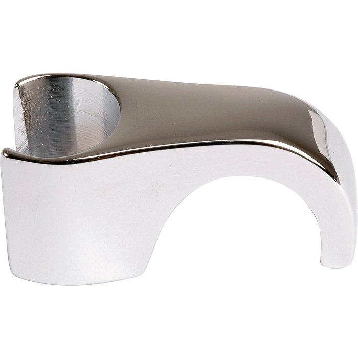 Support douchette sur écrou de robinet - Laiton chromé