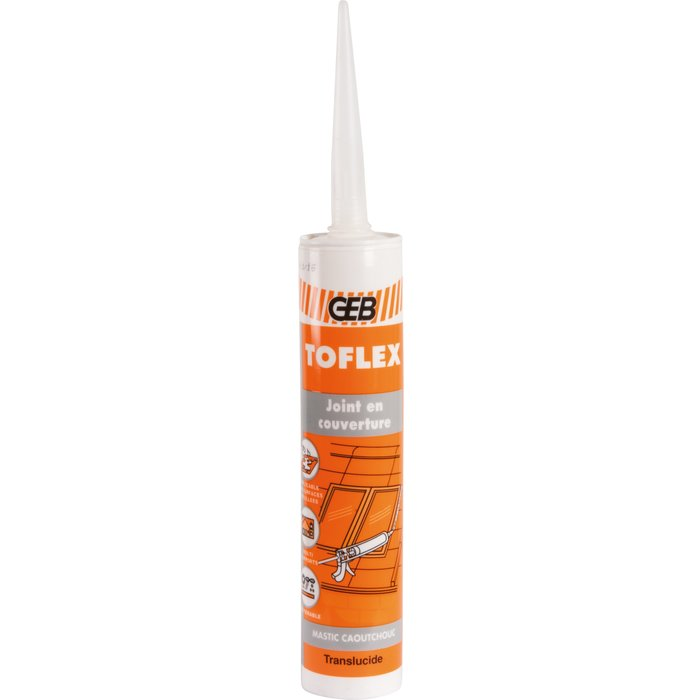 Mastic d'étanchéité Toflex - Spécial couvreur - Contenance 300 ml-1