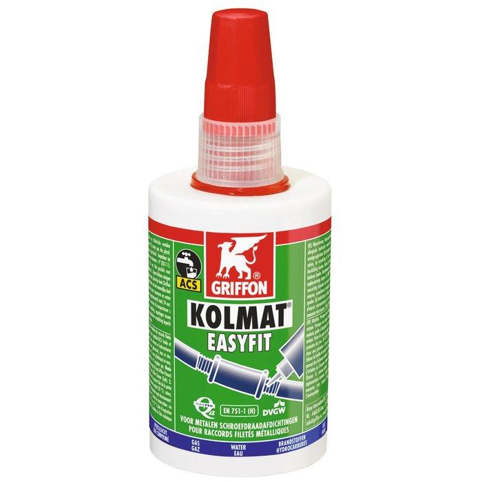 Pâte d'étanchéité Kolmat Easyfit - Pour raccords filetés en métal-1