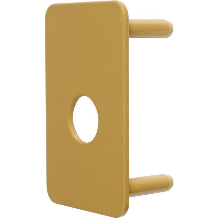 Contre-plaque de sécurité - Pour verrou V136 - Diamètre 23 mm-1